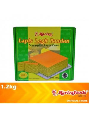 Mariza Layer Cake Square Pandan 1.2 kg