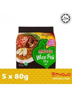Myojo Fried Noodle Specialist - Mee Poh Dry 5 x 80g [HALAL] [Essential]