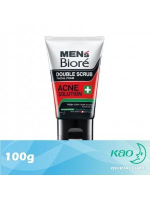 Men's Biore Double Scrub Acne Solution 100g