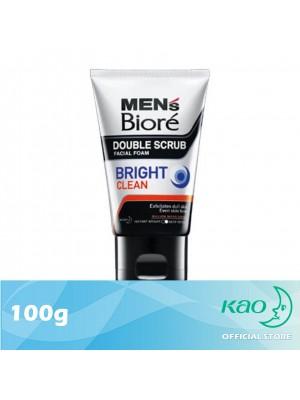 Men's Biore Double Scrub Bright Clean 100g
