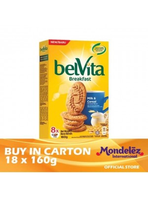 Belvita Milk & Cereal 18 x 160g [Essential]