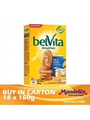 Belvita Milk & Cereal 18 x 160g