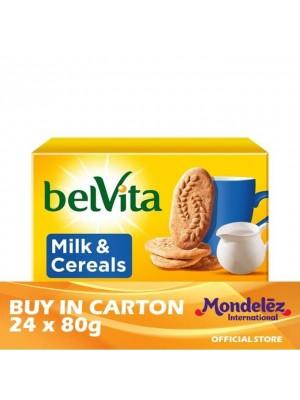 Belvita Milk & Cereal 24 x 80g