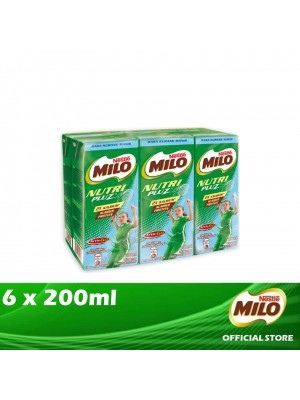 Milo Activ-Go UHT Nutri Pluz  6 x 200ml