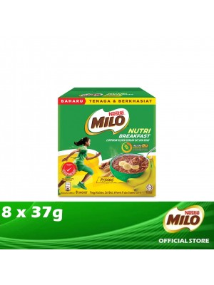 Milo Activ-Go Nutri Breakfast Banana 8 x 37g