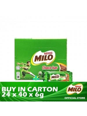 Nestle Milo Chocobar 24 x 40 x 6g