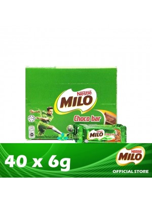 Nestle Milo Chocobar 40 x 6g