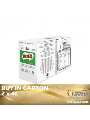 Nestle Professional Milo Liquid Concentrate BIB 2 x 4L
