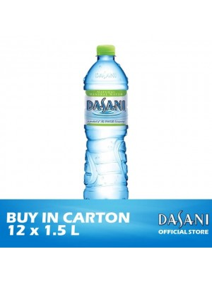 Dasani Mineral Water- PET 12 x 1.5L [Essential]