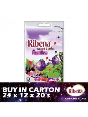 Ribena Ziplock Pastille - Mixberries 24 x 12 x 20's