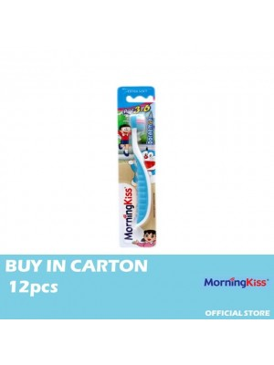 Morning Kiss Children Toothbrush-Doraemon 12pcs