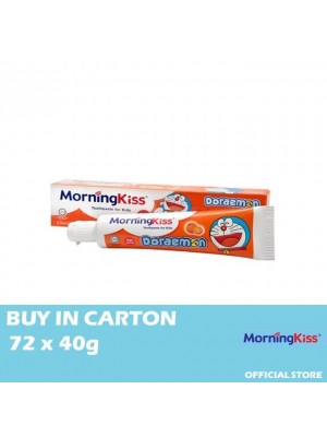 Morning Kiss Orange Children Toothpaste(Doraemon) 72 x 40g