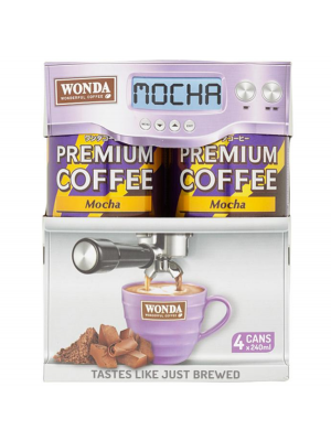 Wonda Mocha Multi-pack 4x240ml