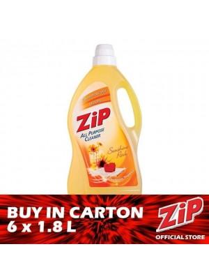 Zip Multipurpose Cleaner - Sunhine Park (Yellow) 6 x 1.8L