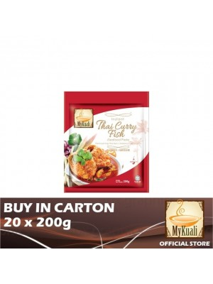 MyKuali Instant Thai Curry Fish/Seafood Paste 20 x 200g
