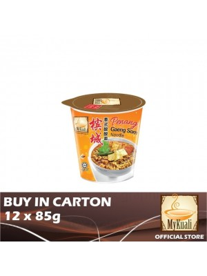MyKuali Penang Gaeng Som Noodle Cup 12 x 85g