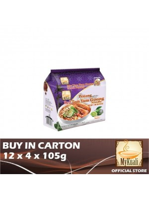 MyKuali Penang Red Tom Yum Goong Noodle 5 x 4 x 105g