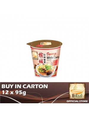 MyKuali Penang White Curry Noodle Cup 12 x 95g [Essential]