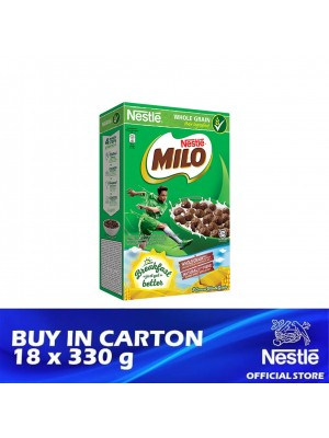 Nestle Milo Breakfast Cereal 18 x 330g