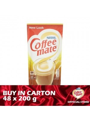 Nestle Coffee-Mate Pouch  48 x 200g