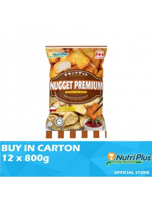 Nutriplus NH Premium Nugget with Spicy Sauce 12 x 800g