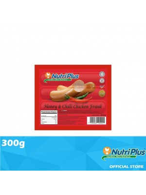 Nutriplus Premium Honey & Chilli Chicken Frank 300g