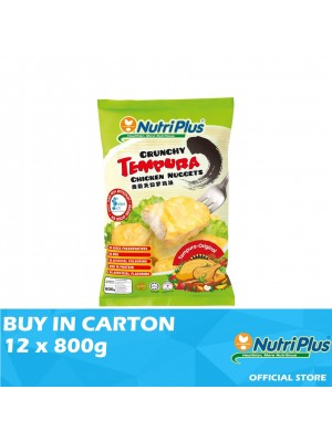 Nutriplus Tempura Original Chicken Nugget 12 x 800g