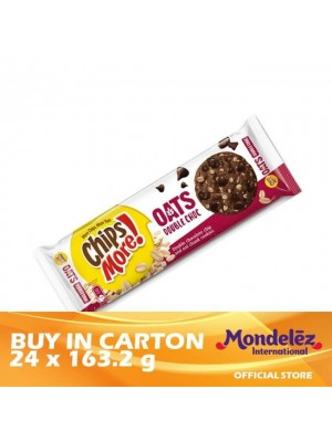Chipsmore Oats Double Chocolate 24 x 163.2g [Essential]