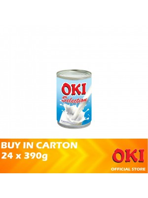OKI Selection Evaporated Creamer 24 x 390g