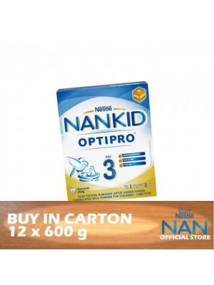 Nestle Nankid Step 3 Optipro 12 x 600g
