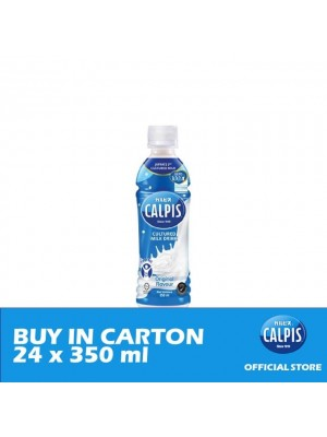 Calpis Smooth Original Flavour Cultured Milk Drink 24 x 350ml
