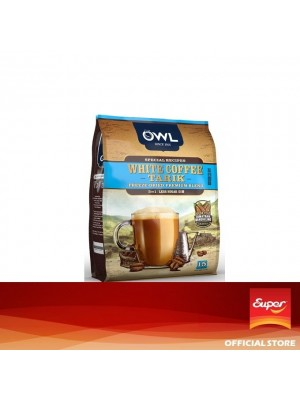 OWL - White Coffee Tarik Less Sugar 3 in 1 15 x 30g
