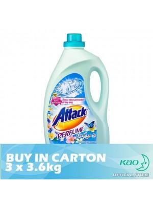 Attack Liquid Detergent Perfume Floral (LATPE) 3 x 3.6kg