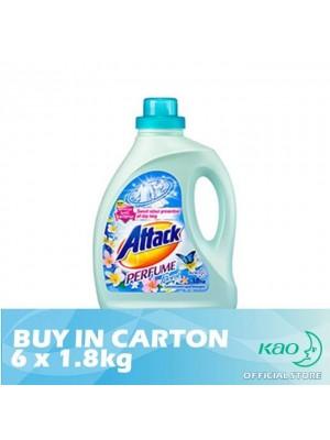 Attack Liquid Detergent Perfume Floral (LATPE) 6 x 1.8kg