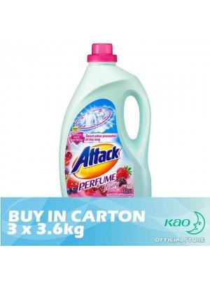 Attack Liquid Detergent Perfume Fruity (LATPJ) 3 x 3.6kg