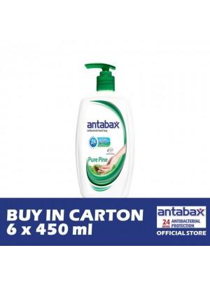 Antabax Hand Soap - Pure Pine 6 x 450ml [Essential]