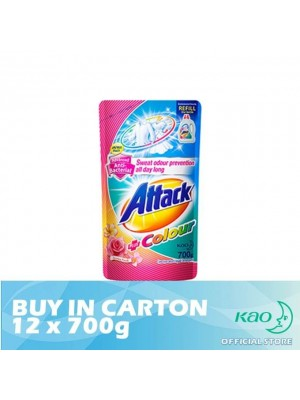 Attack Liquid Detergent Plus Colour (LATC) 12 x 700g