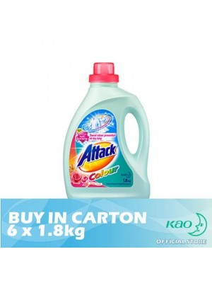 Attack Liquid Detergent Plus Colour (LATC) 6 x 1.8kg