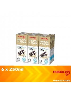 Pokka Cookies & Cream Milk Drink 6x250ml