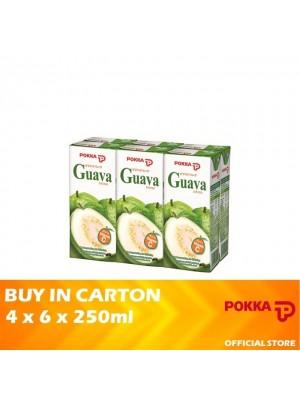 Pokka Guava 4 x 6 x 250ml