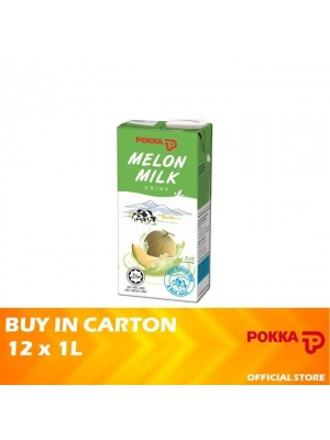 Pokka Melon Milk Drink 12 x 1L