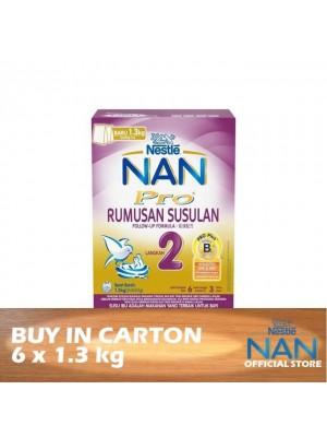 Nestle Nan Pro 2 Follow Up BiB 6 x 1.3kg