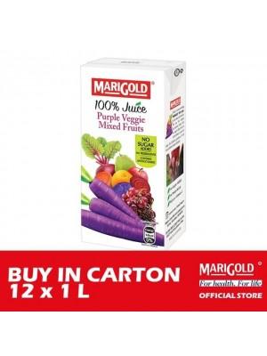 Marigold 100% Juice Purple Veggie Mixed Fruits 12 x 1L