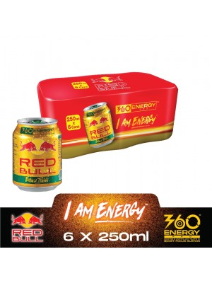 Red Bull Gold Can (6in1) 6 x 250ml