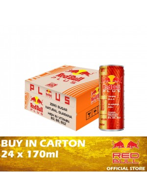 Red Bull Plus Can 24 x 170ml