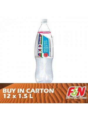 F&N 100 Plus Reduced Sugar Regular Pet 12 x 1.5L