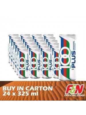 F&N 100 Plus Regular 24 x 325ml [Covid-19]