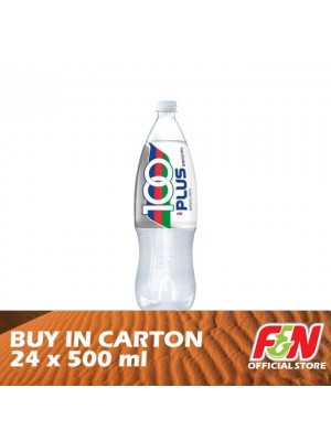 F&N 100 Plus Regular PET 24 x 500ml
