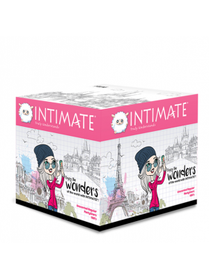 Intimate Regular Pantyliner 100 pcs
