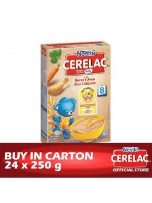 Nestle Cerelac BL FE Rice & Chicken 24 x 250g